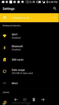 Cara Instal Custom Rom crDroid v3.8.5 [VoLTE] Untuk Xiaomi Redmi 4A