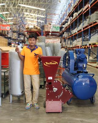 Thailand TruYard Garden Mulcher Chipper Delivery