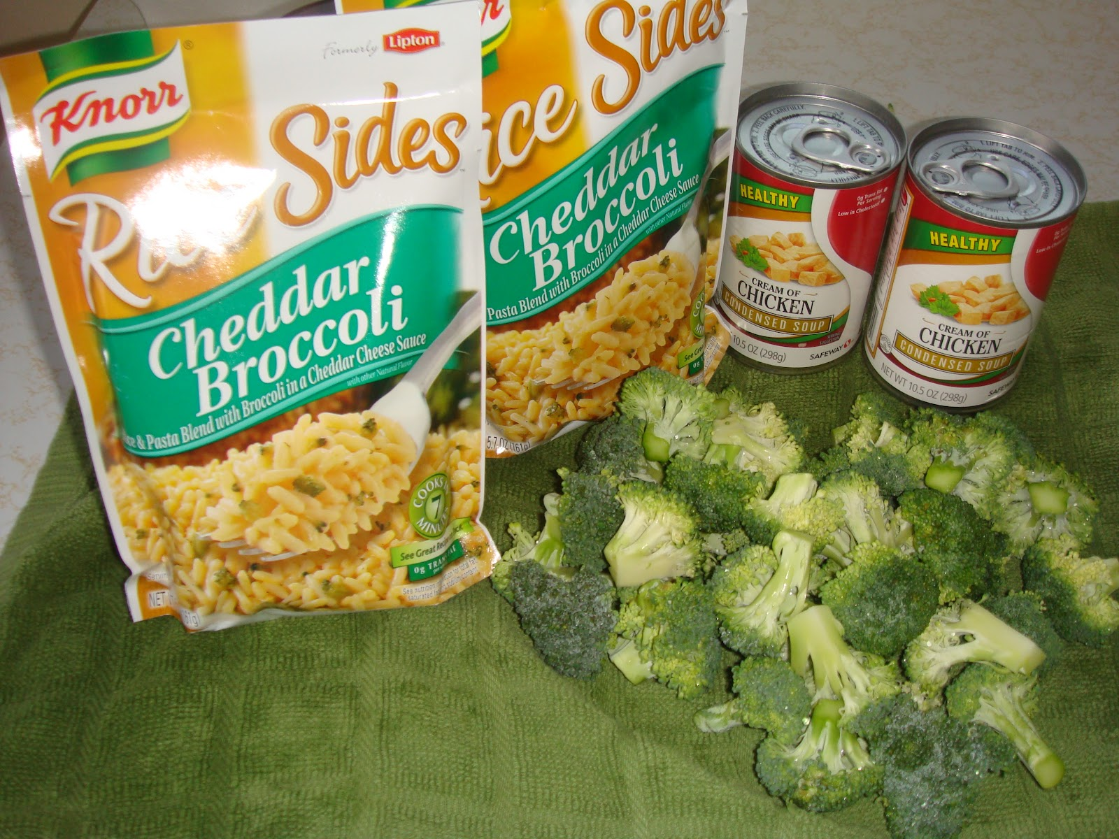Four Sisters Cooking Chicken Broccoli Rice Bake
