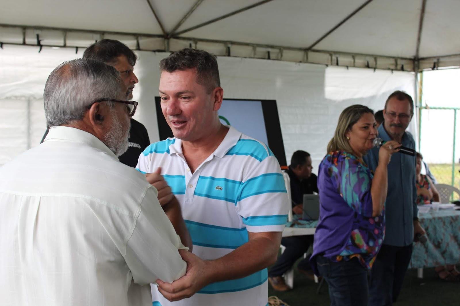 IMG 2845 - Novo administrador do Paranoá, Sergio Damasceno, começa seu primeiro dia de trabalho no Domingo ouvindo a comunidade local.