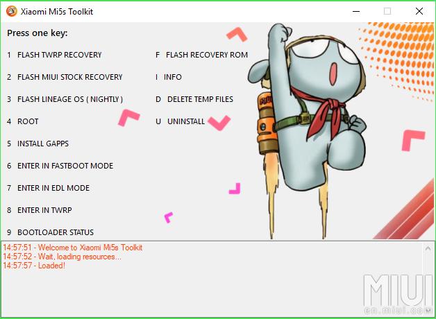 Bisa Root, Flash TWRP, Flashing Rom, dan LineAge OS di Xiaomi Mi5s? Coba Toolkit All in One Berikut!