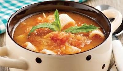 Kabaklı Makarna Çorbası