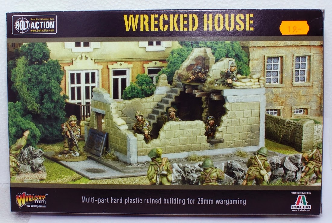 Review: Warlord Games/Italeri Wrecked House - Tale of Painters