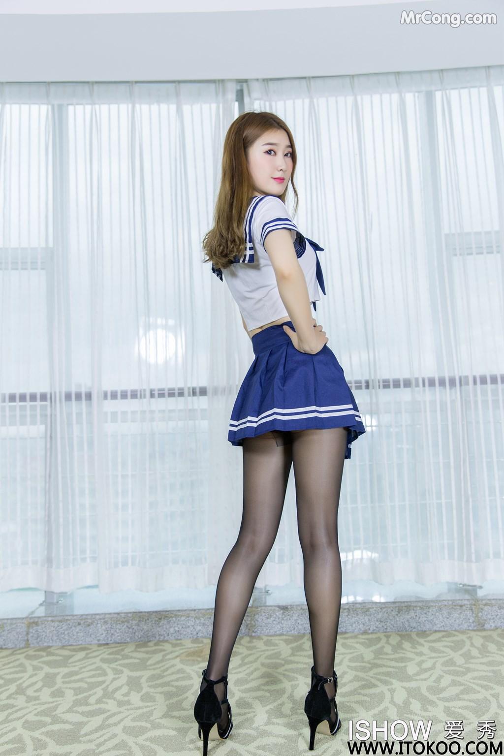 Image ISHOW-No.154-Zhou-Xiao-Bai-MrCong.com-003 in post ISHOW No.154: Người mẫu Zhou Xiao Bai (周小白) (31 ảnh)