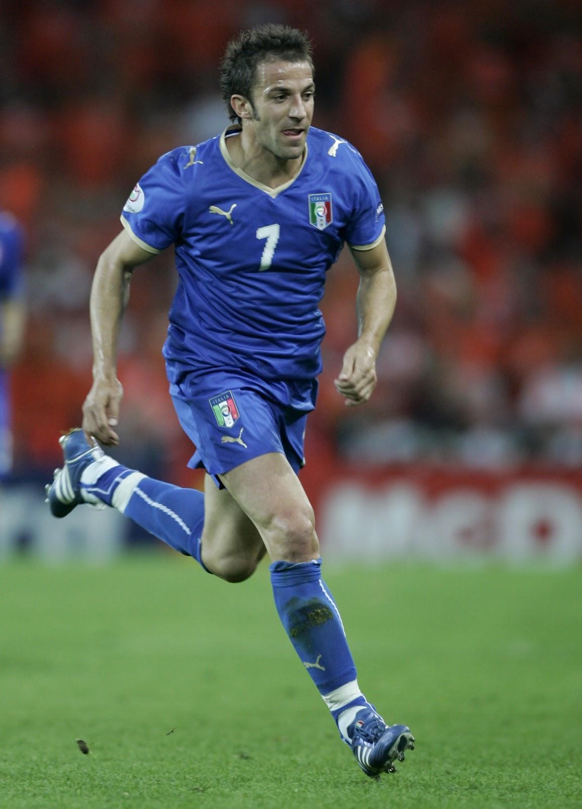Del Piero all'Europeo di Austria e Svizzera | Numerosette Magazine