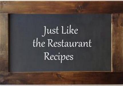 Ruth Chris Steakhouse Copycat Recipes: Lobster Voodoo