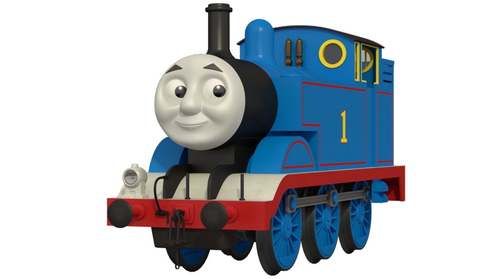 Thomas Train Transparent Background
