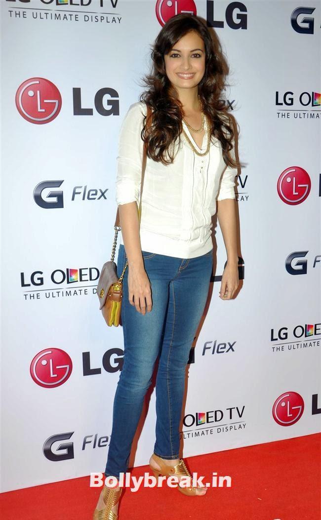Dia Mirza, Celebs at LG G Flex Smartphone Launch