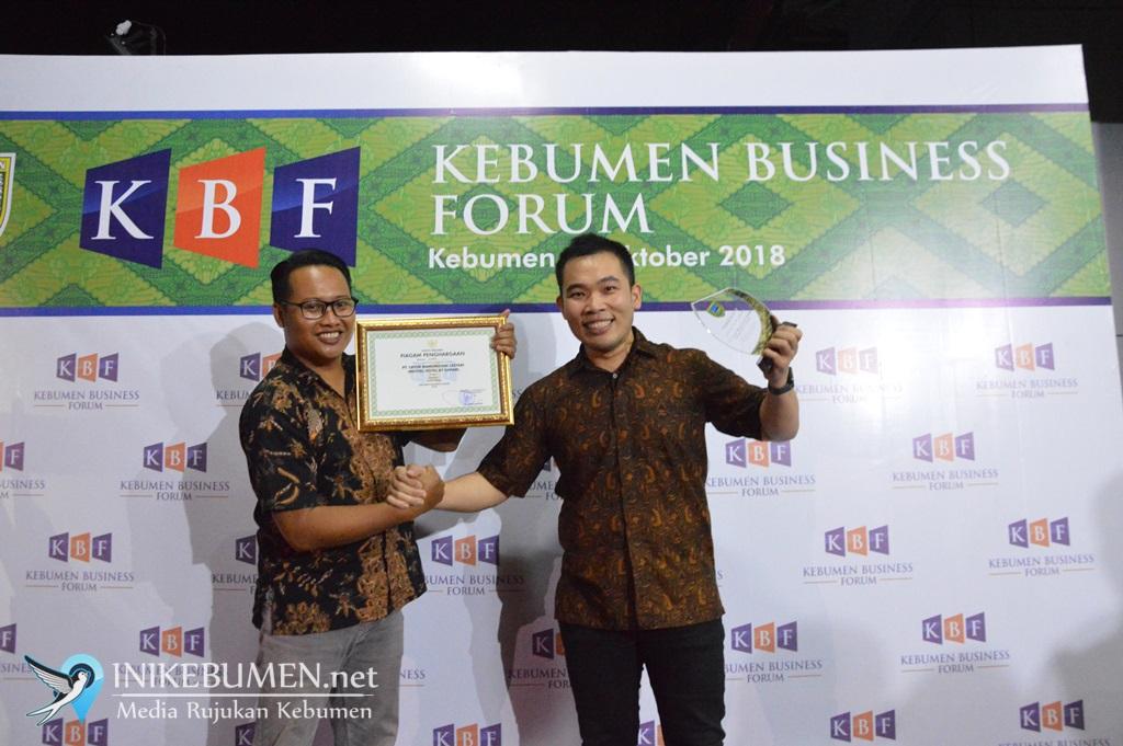 Meotel Kembali Raih Penghargaan Perusahaan Terbaik di Kebumen