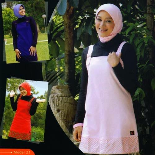Model baju gamis Wanita Terbaru 2018 untuk Ramadhan