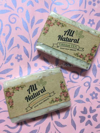 Review : Sabun alami dari All Natural Soap Bars by Jessica Alicia