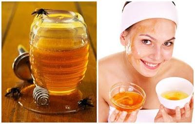 Cách trị tàn nhang trên mặt bằng mật ong và trứng gà