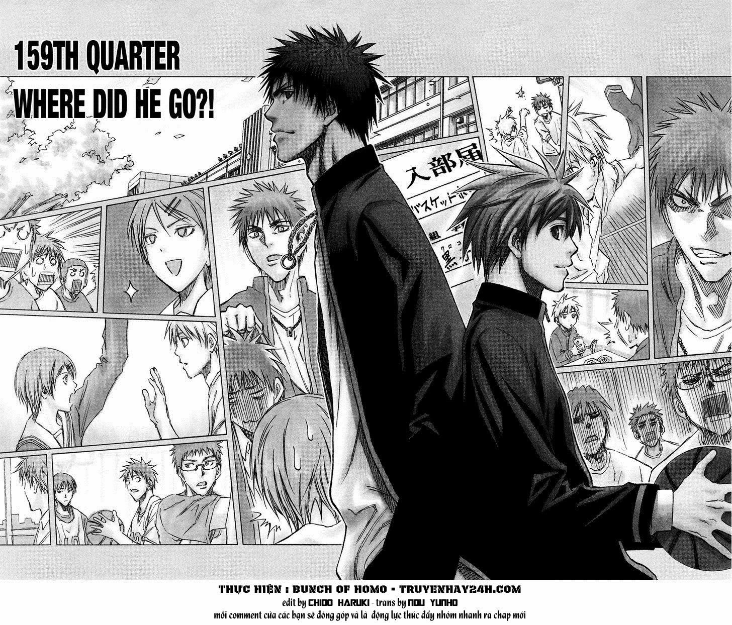 Kuroko No Basket chap 159 trang 2