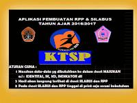 Aplikasi Pembuatan RPP Silabus Otomatis Tahun Ajar 2017/2018