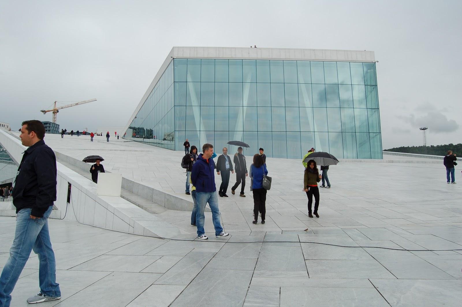 budynek Opery w Oslo, Norwegia