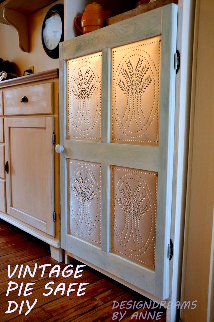 Make A Plain Cabinet Into A Pie Safe!