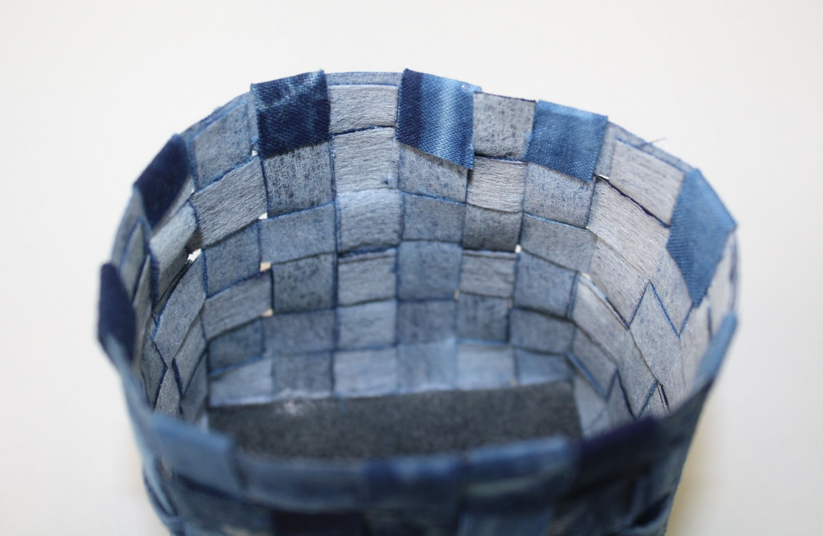 sarah bell smith: Woven Fabric Basket