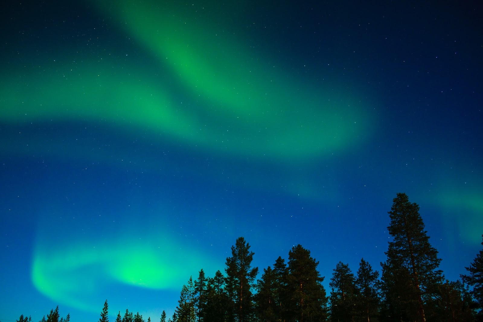 revontulet, suomi, luonto, taivas, aurora borealis, revontuli