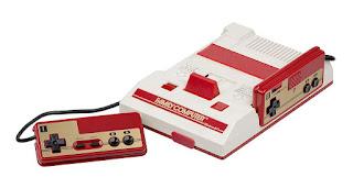 Imagen con una videoconsola Nintendo FAMICOM