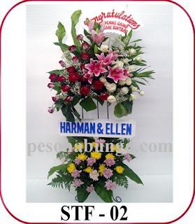 bunga standing flower