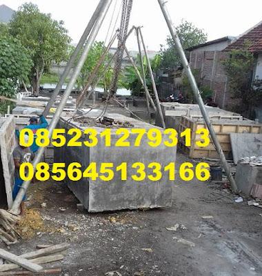 tandon air cor tanam beton bangkalan