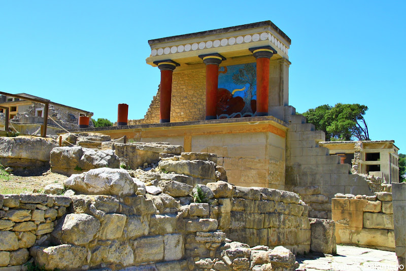 North Propylaeum Palace of Knossos Things to Do in Crete