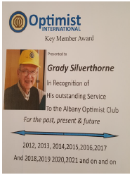 albany optimist club