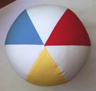 Sew Homegrown: {DIY} 6 Piece Beach Ball Pillow