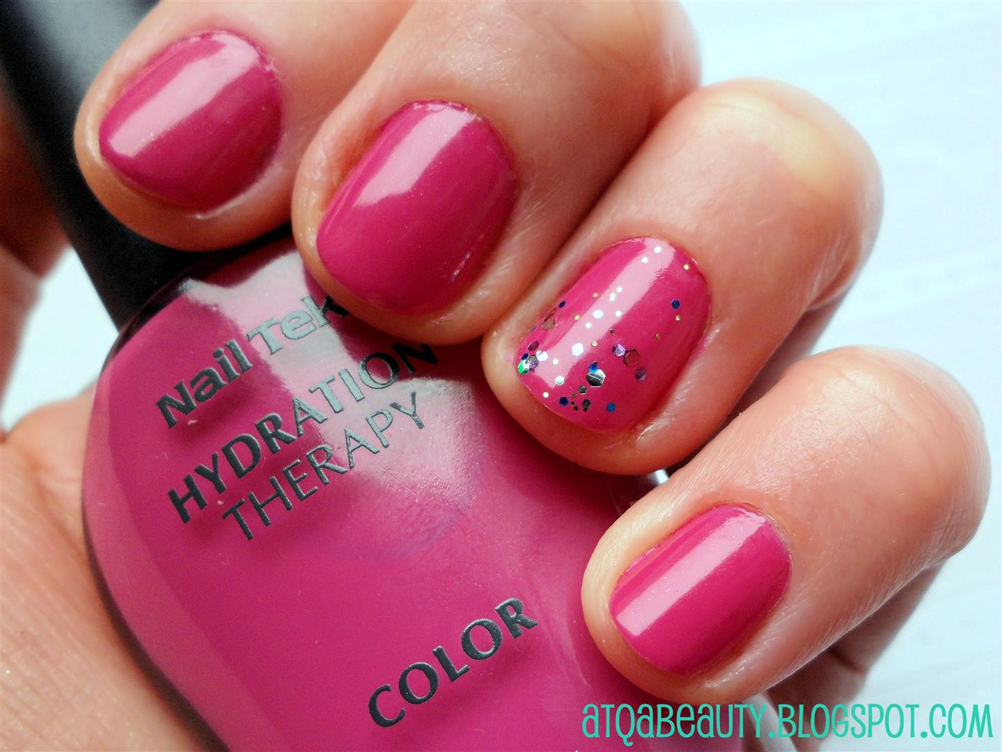 Paznokcie :: Nail Tek Hydration Therapy Color, Dose-A-Rosa