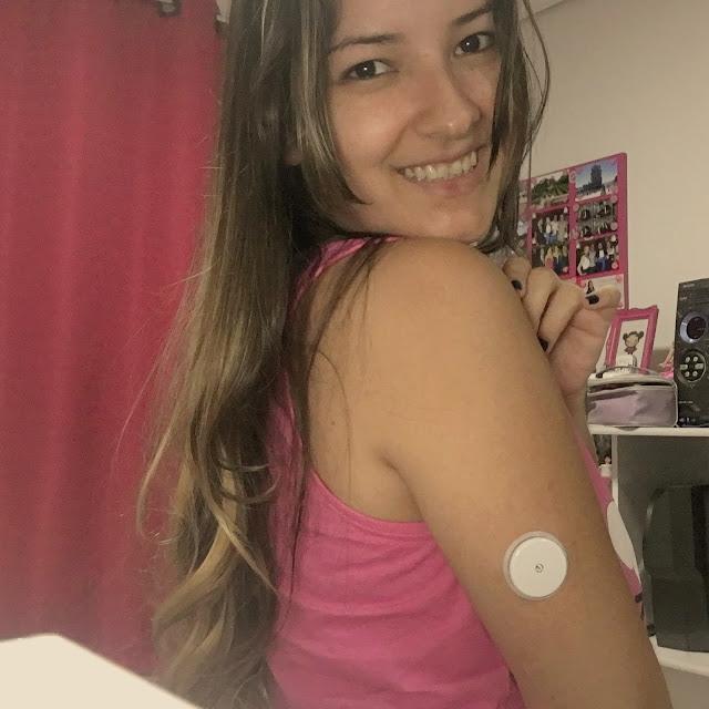 sensor freestyle libre no braço