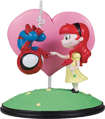 Revelada la Spider-Man and Mary Jane de la línea Gentle Giant Marvel Animated Statue
