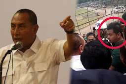 Viral!! Detik-Detik Vedio Gubernur Edy Rahmayadi yang Menampar Supporter PSMS Medan