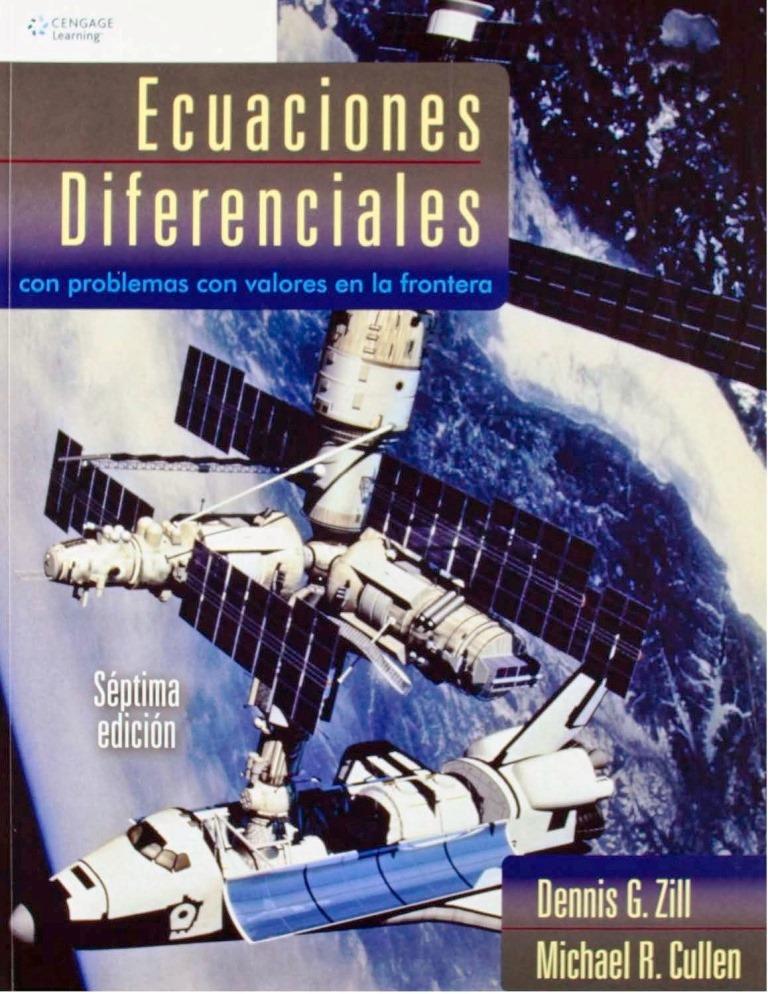 Ecuaciones diferenciales con problemas con valores en la frontera, 7ma Edición – Dennis G. Zill y Michael R. Cullen