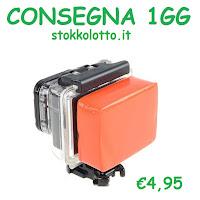 Accessori Supporti Spugna  float floaty GALLEGGIANTE arancione coperchio dietro backside protezione antiurto