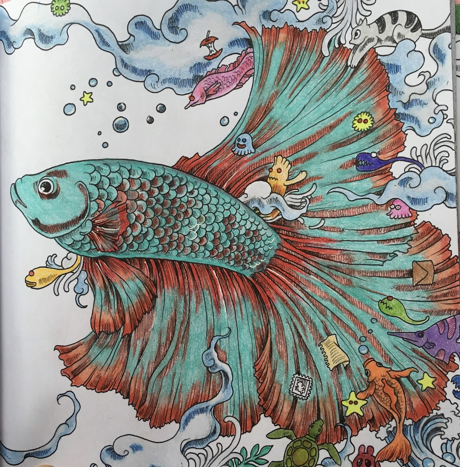 ColorMyStyle: Review: Animorphia Coloring Book