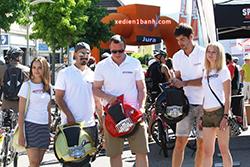 xe đạp gấp 1 bánh Q3 Supper wheel Thụy sĩ