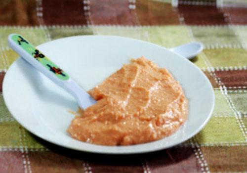 Mazamorra de zanahoria