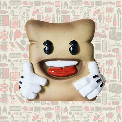 Biggie Bread Resin Figure by Deli Fresh Threads x UME Toys