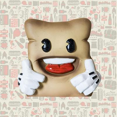 Biggie Bread Resin Figure by Deli Fresh Threads x UME Toys