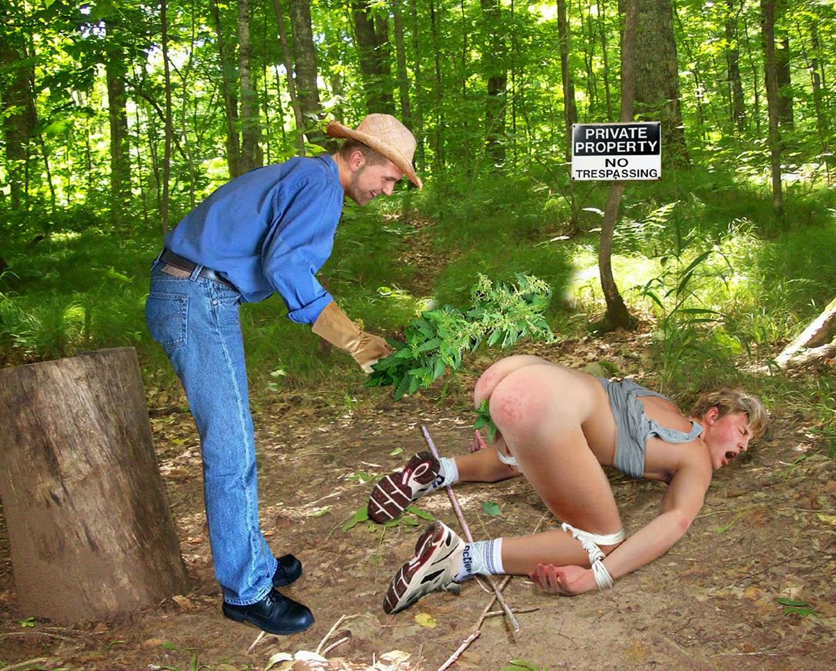 Nettles spanking