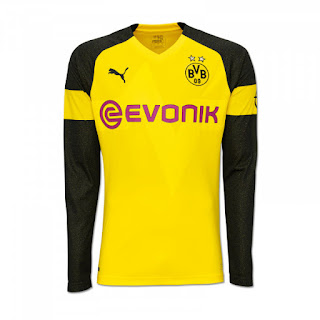 Borussia Dortmund 2018-19 PUMA Home Kit