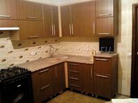 Кухня штрокс коричневый