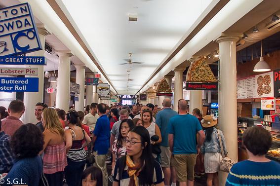 Quincy Market. 10 cosas que ver en Boston