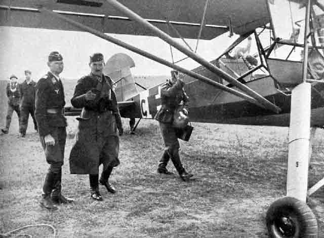 Colonel-General Eugene Ritter von Schobert last flight 12 September 1941 worldwartwo.filminspector.com