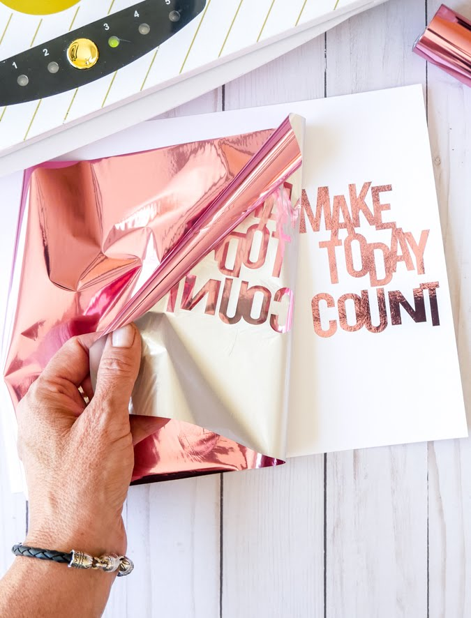 How to Minc Fabulous Sketch Book Covers by Jamie Pate for Heidi Swapp