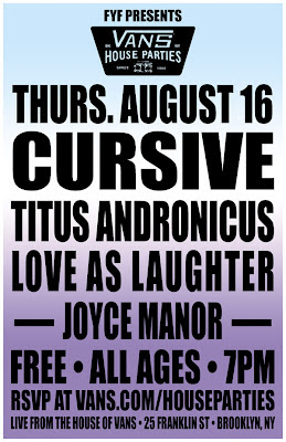 Titus Andronicus free show poster