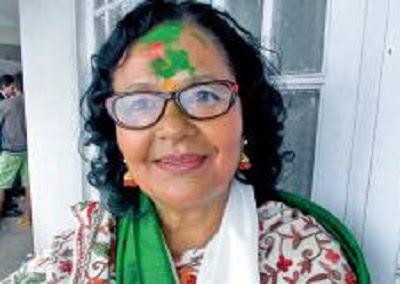 Shanta Chhetri TMC Rajya Sabha Candidate