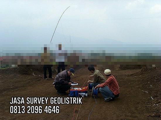 Jasa Survey Geolistrik Air Tanah Biaya Murah