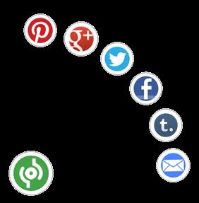 Cara Membuat Tombol Share Berputar di Sudut Blog