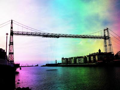 Patrimonio de la Humanidad en Europa y América del Norte. España. Puente de Vizcaya.